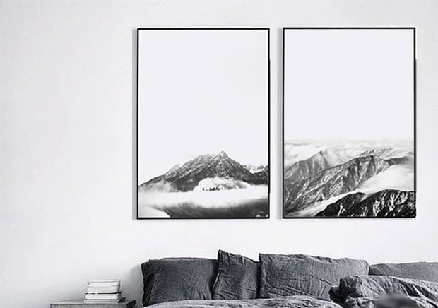 nature Wall Decor, Tundra Montana Canvas Prints, beautiful natural decor, nature inspired designs, best home decor, Forest Homes