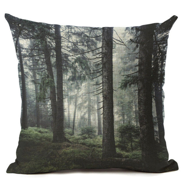 nature Comfort, Landschaft Cushion Covers, beautiful natural decor, nature inspired designs, best home decor, Forest Homes