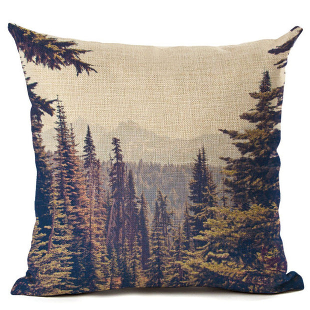nature Comfort, Tirwedd Cushion Covers, beautiful natural decor, nature inspired designs, best home decor, Forest Homes