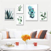 nature Wall Decor, Aloe Canvas Prints, beautiful natural decor, nature inspired designs, best home decor, Forest Homes