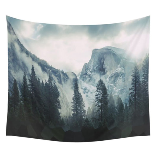 nature Wall Decor, High Forest Tapestry, beautiful natural decor, nature inspired designs, best home decor, Forest Homes