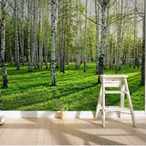 nature Wall Decor, Fresh Forest Mural Wallpaper (m²), beautiful natural decor, nature inspired designs, best home decor, Forest Homes