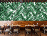 nature Wall Decor, Light Berdea Mural Wallpaper (m²), beautiful natural decor, nature inspired designs, best home decor, Forest Homes