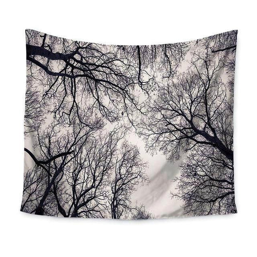Best Wall Decor at great price, Bodhi B&W Forest Tapestry, Beautiful Natural Decor, Nature inspired Designs, home decor, Forest Homes