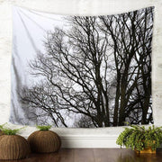 nature Wall Decor, Foresta Branca Tapestry, beautiful natural decor, nature inspired designs, best home decor, Forest Homes