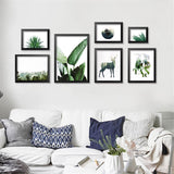 Best Wall Decor at great price, Botany Emerald Canvas Prints, Beautiful Natural Decor, Nature inspired Designs, home decor, Forest Homes