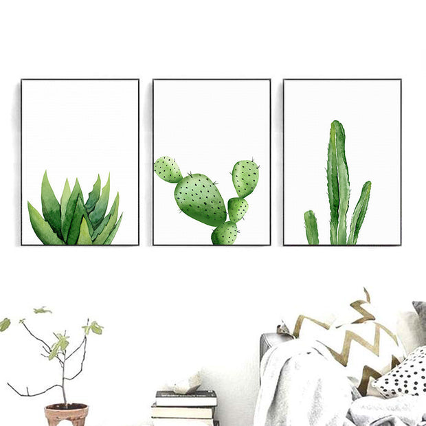 nature Wall Decor, Pilosocereus Cactus Canvas Prints, beautiful natural decor, nature inspired designs, best home decor, Forest Homes
