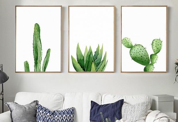 nature Wall Decor, Cyan Canvas Prints (Set of 3 Canvas), beautiful natural decor, nature inspired designs, best home decor, Forest Homes