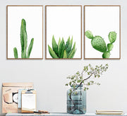 nature Wall Decor, Prickly Pear Cactus Canvas Prints, beautiful natural decor, nature inspired designs, best home decor, Forest Homes