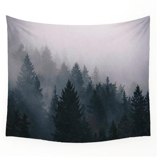 nature inspired Bru Wall Tapestry, Beautiful, unique Wall Decor, Forest Homes, Natural Decor, Nature inspired Design, home decor