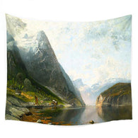 Haar Wall Tapestry, Beautiful, unique Wall Decor, Forest Homes, Home Natural Decor, Nature inspired Design
