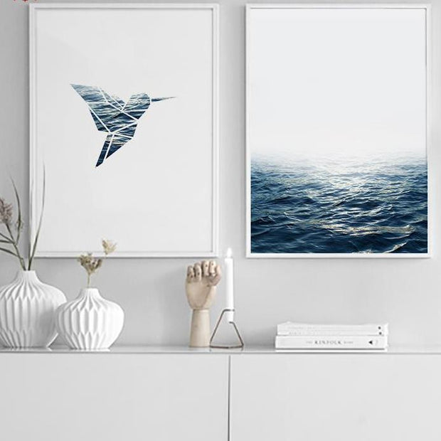 nature Wall Decor, Sea Movement Canvas Prints, beautiful natural decor, nature inspired designs, best home decor, Forest Homes