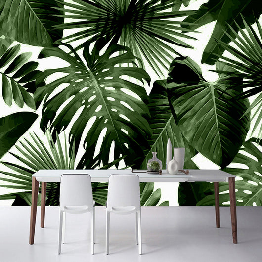 nature inspired Tropical Feelings Wallpaper, Beautiful, unique Wall Decor, Forest Homes, Natural Decor, Nature inspired Design, home decor