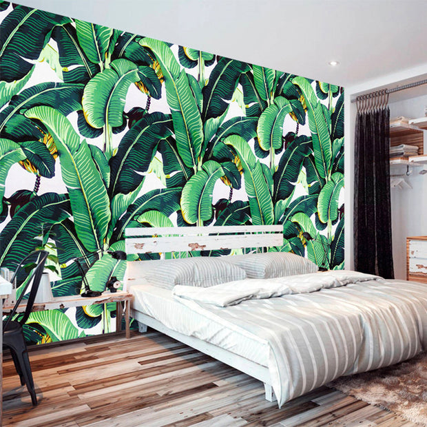 nature Wall Decor, My Bananier Mural Wallpaper (m²), beautiful natural decor, nature inspired designs, best home decor, Forest Homes