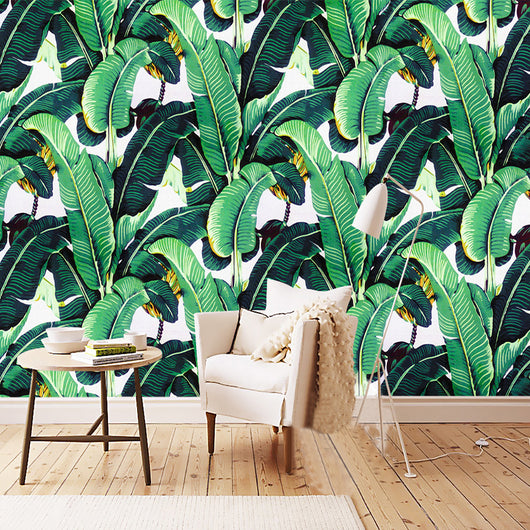 Nature decor, Wall Decor, My Bananier Mural Wallpaper (m²), Beautiful Natural Decor, Nature inspired Design, home decor, Forest Homes
