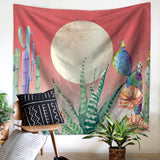 nature inspired Cactus Frida Tapestry, Beautiful, unique Wall Decor, Forest Homes, Natural Decor, Nature inspired Design, home decor