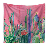 nature inspired Cactus Fucsia Wall Tapestry, Beautiful, unique Wall Decor, Forest Homes, Natural Decor, Nature inspired Design, home decor