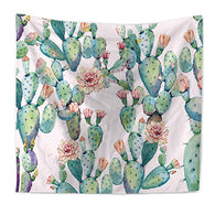 Summer Cactus Wall Tapestry, Beautiful, unique Wall Decor, Forest Homes, Home Natural Decor, Nature inspired Design