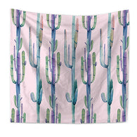 nature inspired Rosé Cactus Wall Tapestry, Beautiful, unique Wall Decor, Forest Homes, Natural Decor, Nature inspired Design, home decor