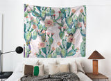 Nature decor, Wall Decor, Summer Cactus Tapestry, Beautiful Natural Decor, Nature inspired Design, home decor, Forest Homes