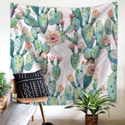 nature Wall Decor, Summer Cactus Tapestry, beautiful natural decor, nature inspired designs, best home decor, Forest Homes
