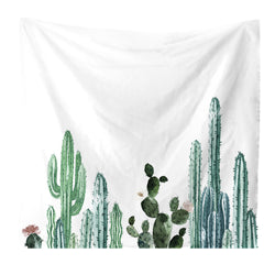 Nature decor, Wall Decor, Long Cactus Tapestry, Beautiful Natural Decor, Nature inspired Design, nature wallpaper, floral wallpaper, forest wallpaper, mural wallpaper, nature canvas, canvas prints, nature tapestries, glass terrariums, home decor, Forest Homes