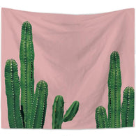 nature inspired Pink Cactus Wall Tapestry, Beautiful, unique Wall Decor, Forest Homes, Natural Decor, Nature inspired Design, home decor
