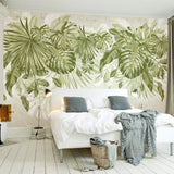 Nature decor, Wall Decor, Grand Garden Mural Wallpaper (m²), Beautiful Natural Decor, Nature inspired Design, nature wallpaper, floral wallpaper, forest wallpaper, mural wallpaper, nature canvas, canvas prints, nature tapestries, glass terrariums, home decor, Forest Homes