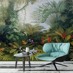 Nature decor, Wall Decor, Noble Gardens Mural Wallpaper (m²), Beautiful Natural Decor, Nature inspired Design, home decor, Forest Homes