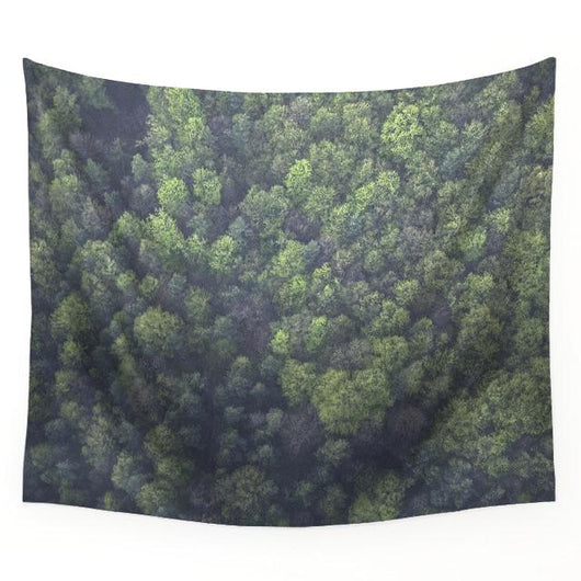 Nature inspired decor, Wall Decor, Forest View Tapestry, Beautiful Natural Decor, Nature Designs, home decor, Forest Homes