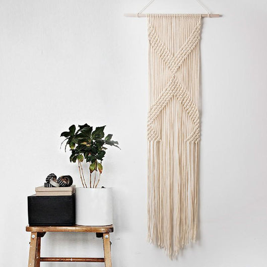 nature Wall Decor, Angelica Macramé Wall Hanging, beautiful natural decor, nature inspired designs, best home decor, Forest Homes