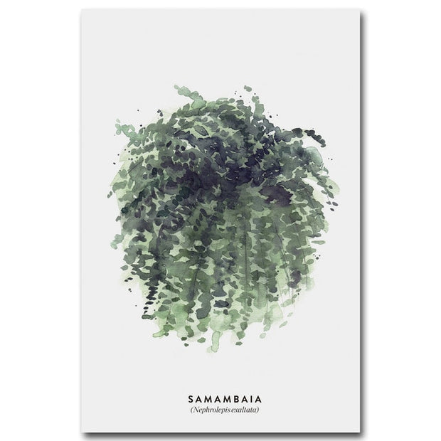 nature Wall Decor, Samambaia Amazon Canvas, beautiful natural decor, nature inspired designs, best home decor, Forest Homes