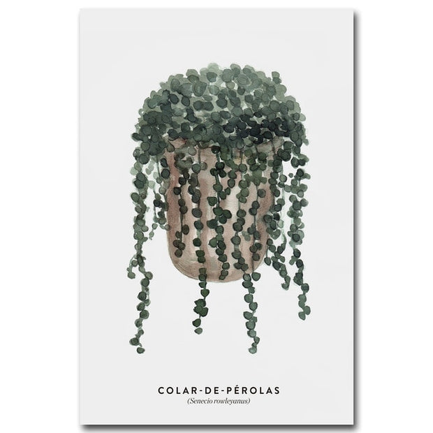 nature Wall Decor, Colar de Perolas Canvas, beautiful natural decor, nature inspired designs, best home decor, Forest Homes