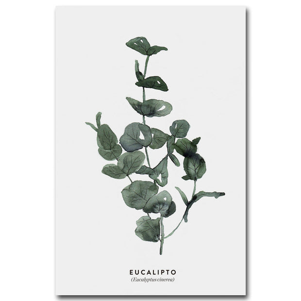nature Wall Decor, Eucalipto Amazon Canvas, beautiful natural decor, nature inspired designs, best home decor, Forest Homes
