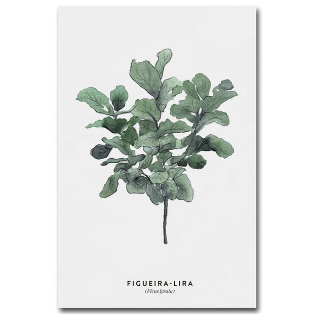 nature Wall Decor, Figueira Lira Canvas, beautiful natural decor, nature inspired designs, best home decor, Forest Homes