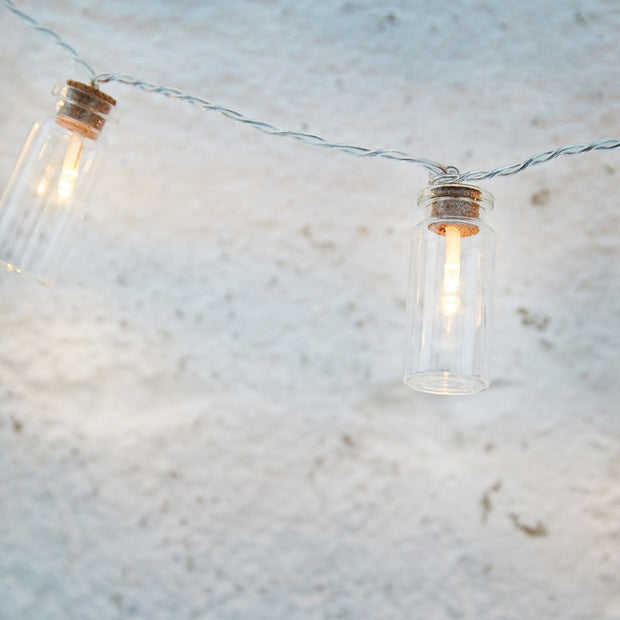 nature Lighting, Mini Bottle String Lights, beautiful natural decor, nature inspired designs, best home decor, Forest Homes