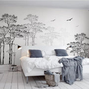 nature Wall Decor, Imagine Forest Mural Wallpaper, beautiful natural decor, nature inspired designs, best home decor, Forest Homes