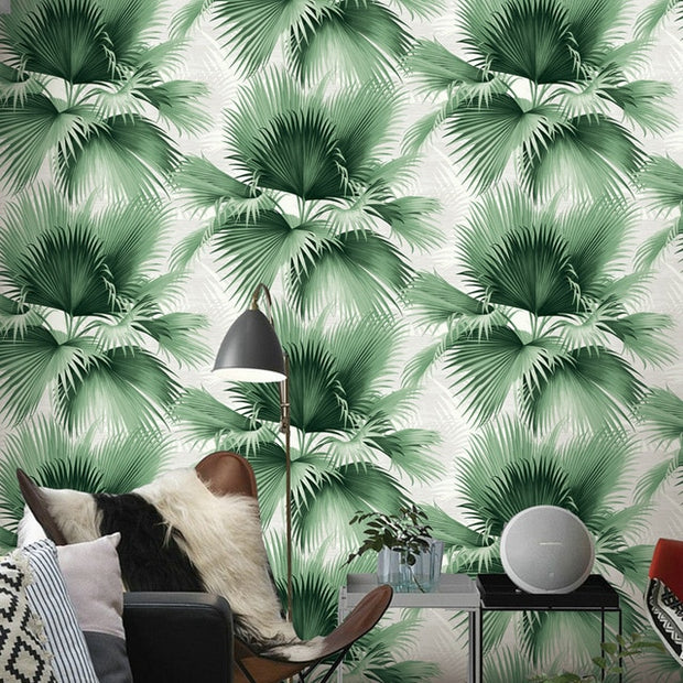 nature Wall Decor, The Great Palm Wallpaper (2X), beautiful natural decor, nature inspired designs, best home decor, Forest Homes