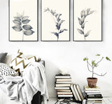 Nature decor, Wall Decor, Stachys Canvas Prints (Set of 4 Canvas), Beautiful Natural Decor, Nature inspired Design, home decor, Forest Homes
