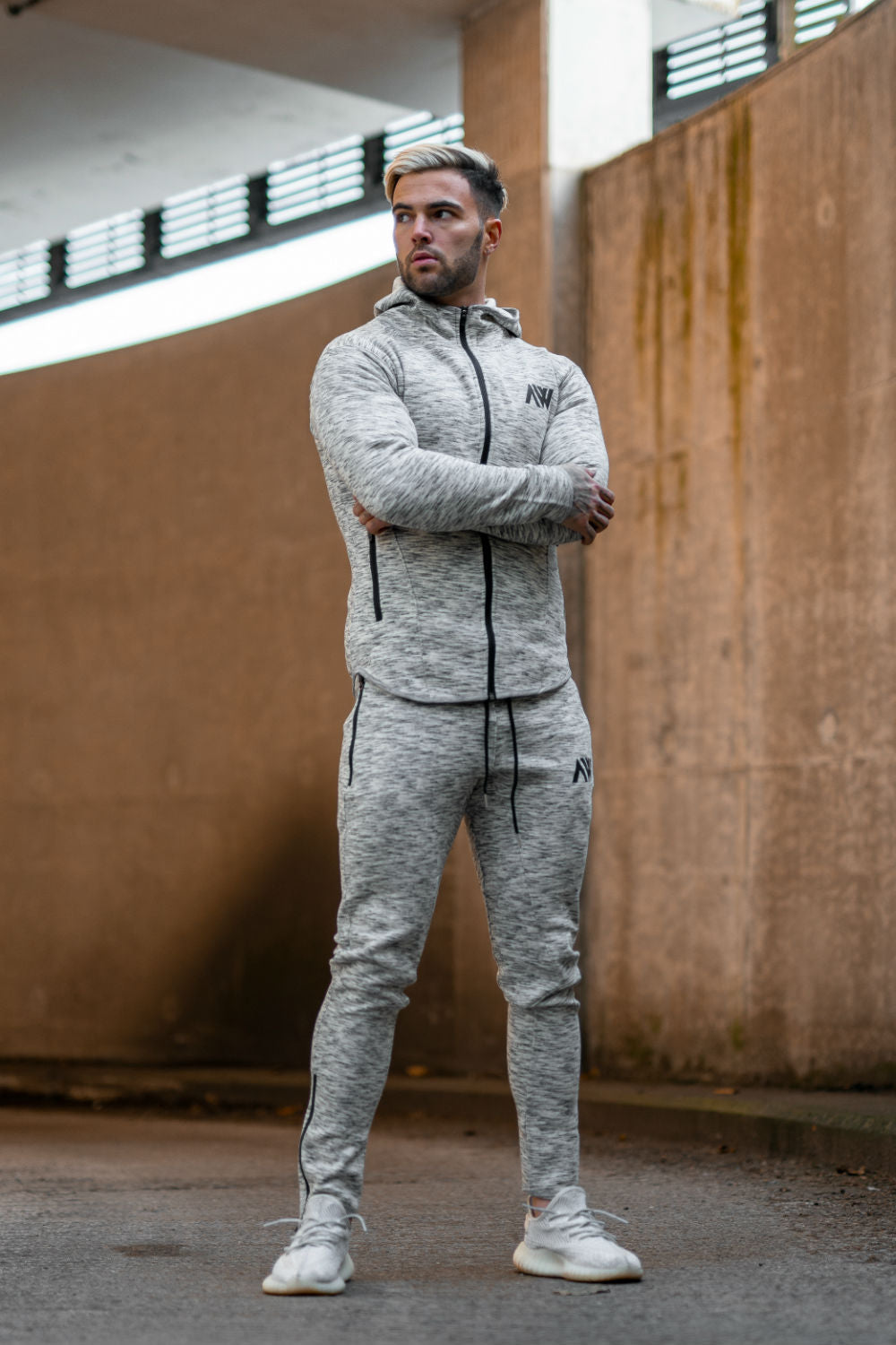 Tech 2.0 Tracksuit - Grey Mix