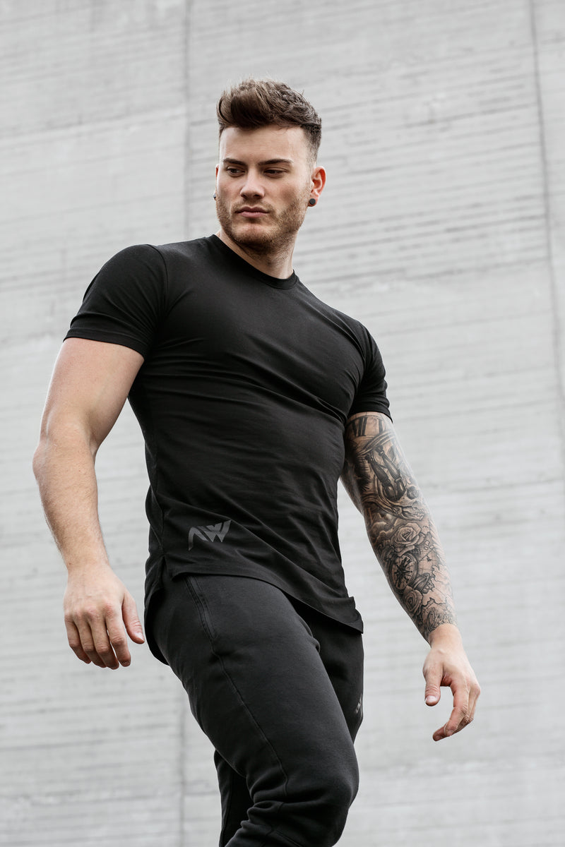 Elite Tee - Stealth Black