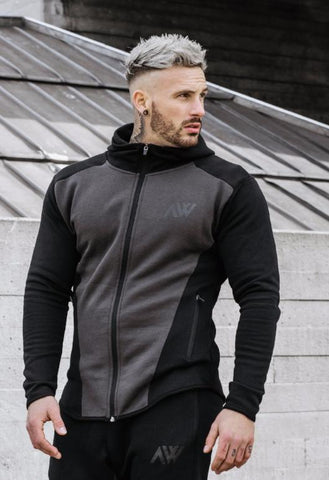 Tech 2.0 Hoodie - Charcoal Mix