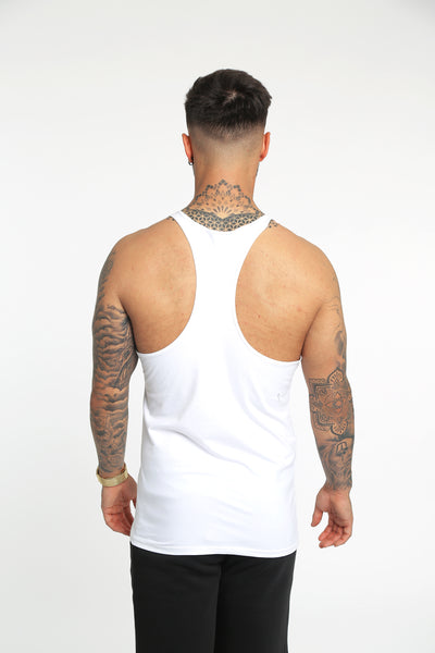 Core Gym Vest - White