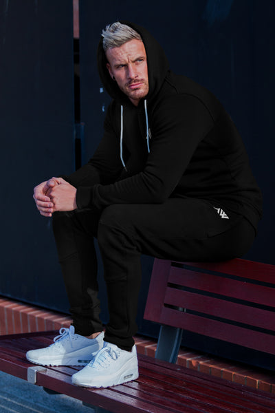 Core Slim Tracksuit - Jet Black