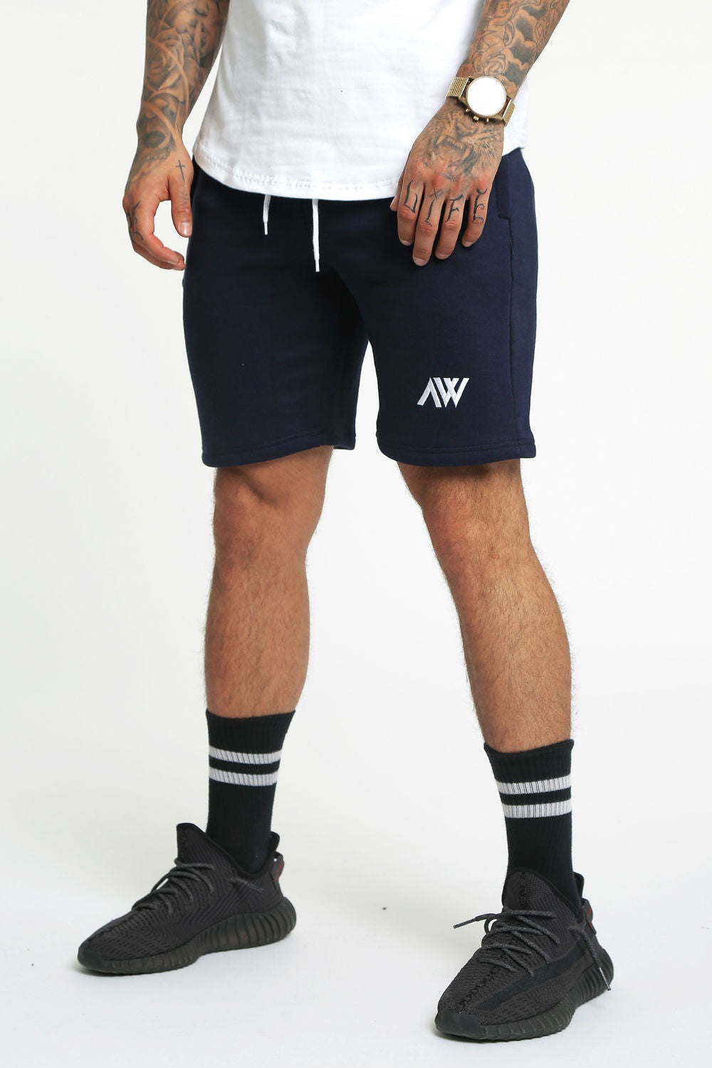 Jogger Shorts - Navy Blue
