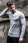 PerformaZip Tee - Grey