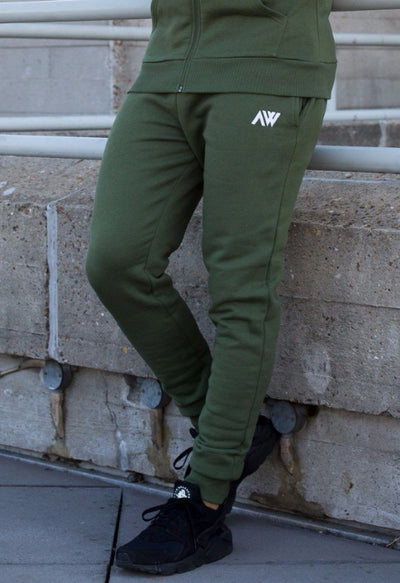 Luxe Bottoms - Khaki Green