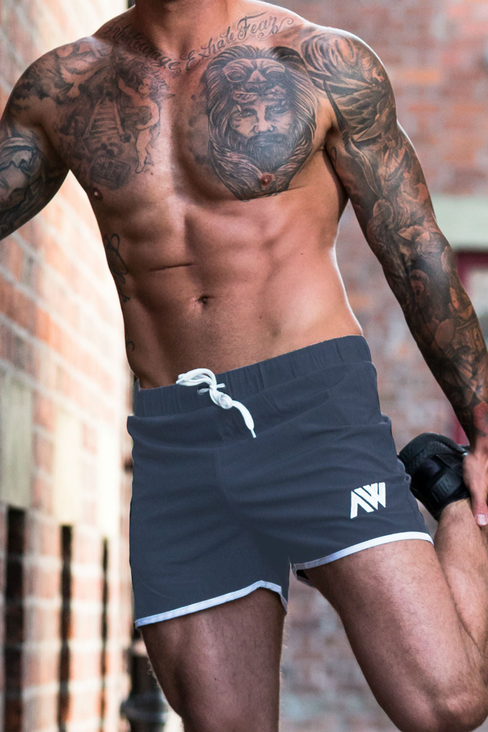 Pro-Fit Stretch Shorts - Dark Grey