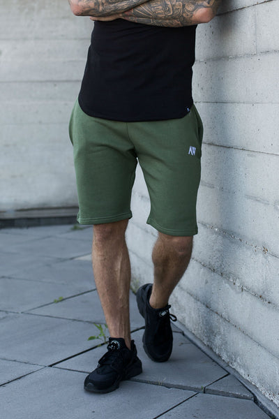 Luxe Shorts - Khaki Green