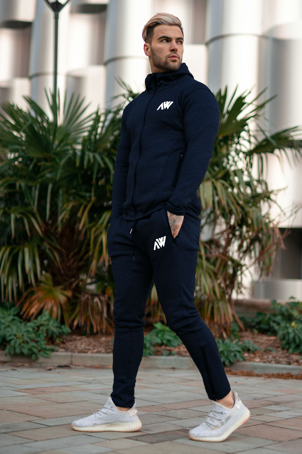 Tech 2.0 Tracksuit - Navy Blue